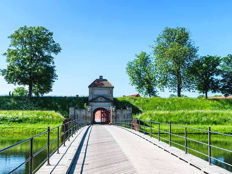 King Gate at Kastellet in Copenhagen