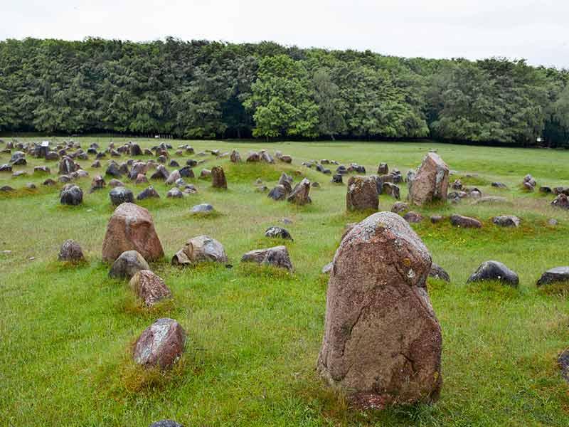 Lidholm Høje in North Jylland, Denmark