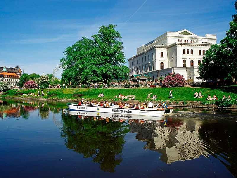 Paddan Boat Tour in Stockholm, Sweden.