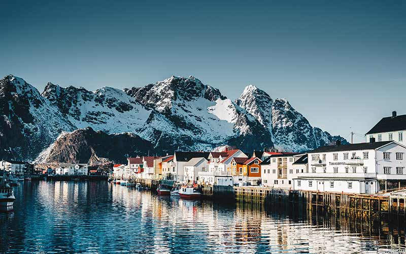 Things to do in Norway - Henningsvær village at the lofoten
