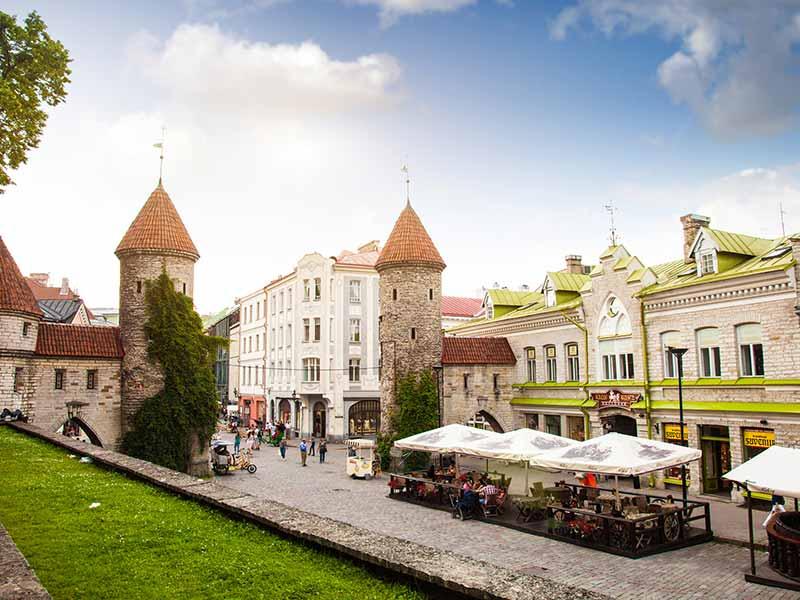 Tallinn Old Town entrance